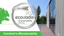 Trimo sustainability work awarded the EcoVadis Silver rating