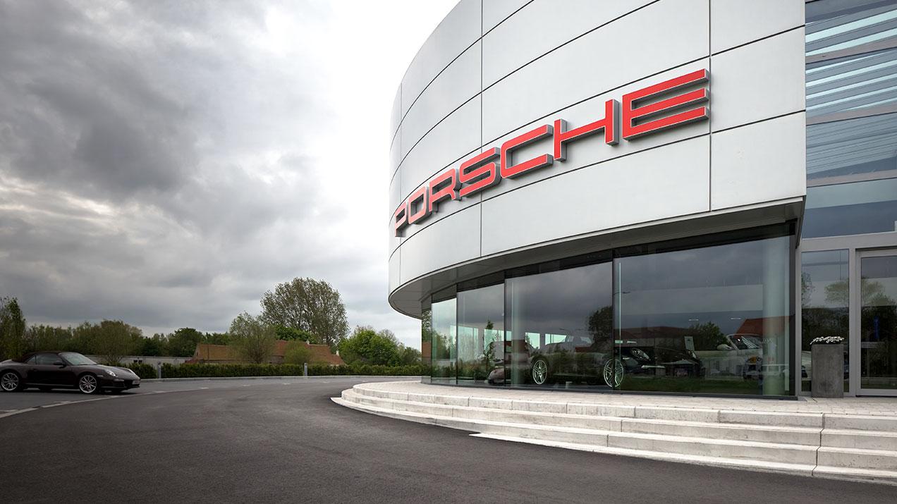 Qbiss One - Porsche Centre Knokke (Belgium)