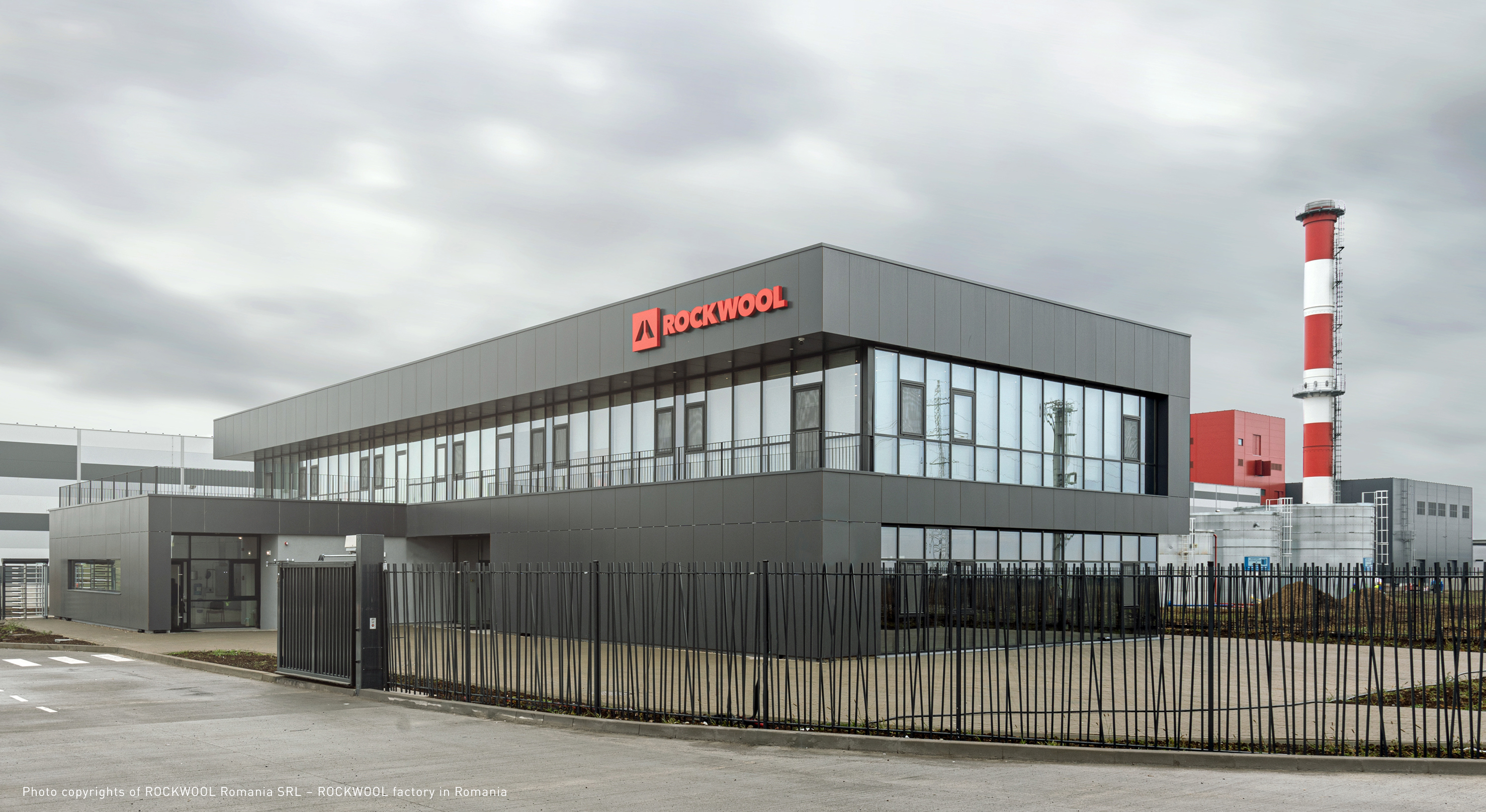 Rockwool Factory, Warehouse & Utility centre