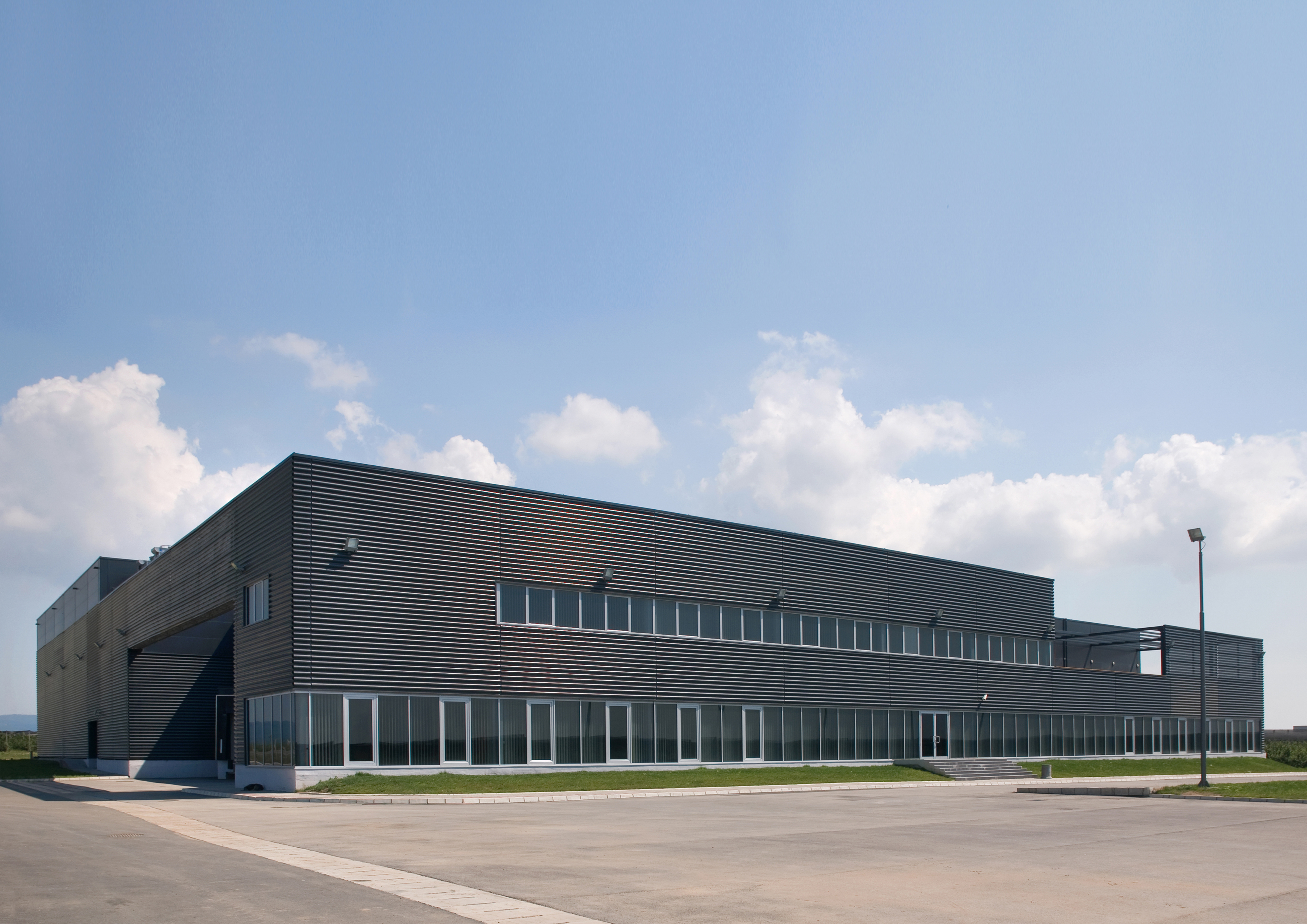 Business building and ULO cold-storage plant Rudnap agrar